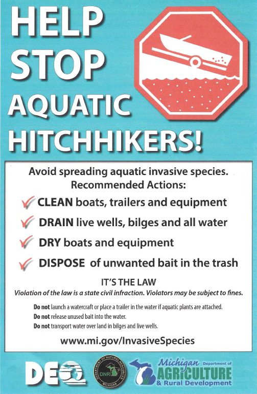 Infographic on stopping invasive species